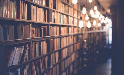 Bibliothèque éclairée