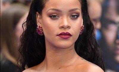 Portrait de la chanteuse Rihanna